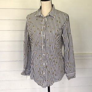 Banana Republic Dillon Shirt Banana Theme M